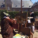 Mheerse School op Middeleeuws feest